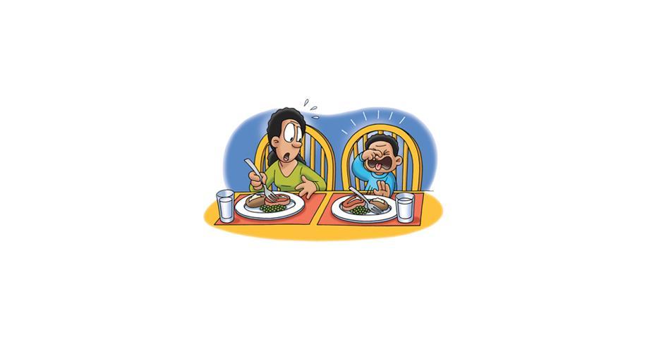 Dinnertime:  Managing Fussy Eaters