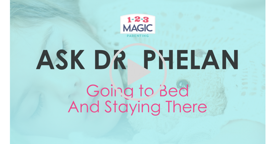 How Do I Get My Child to Go to Bed (and Stay There!)?