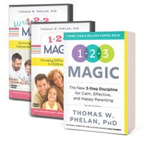 1-2-3 Magic Book & DVD Package