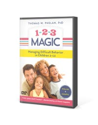 1-2-3 Magic DVD: 3-Step Discipline for Calm, Effective, and Happy Parenting