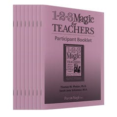 1-2-3 Magic for Teachers Participant Booklets