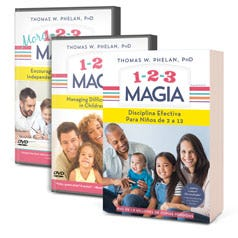 1-2-3 Magic Spanish Complete Book & DVD Package