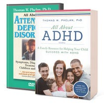 All About ADHD Book & DVD Package