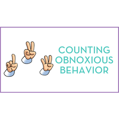 Counting Obnoxious Behavior Seminar