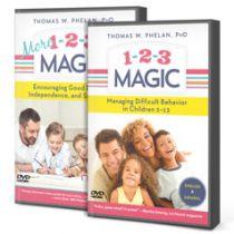 1-2-3 Magic & More 1-2-3 Magic DVD Package