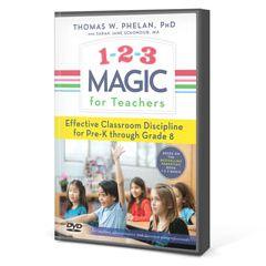 1-2-3 Magic for Teachers DVD
