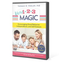 More 1-2-3 Magic DVD