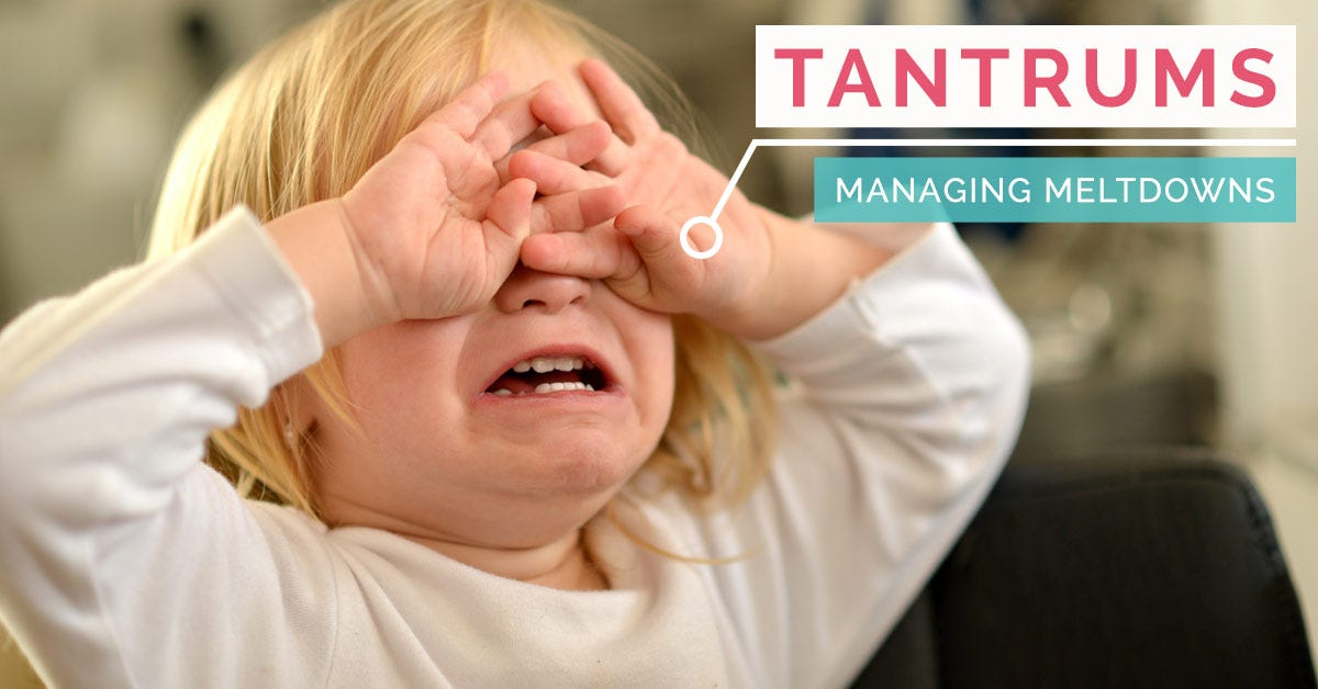 Stop Tantrums fast with this free guide!