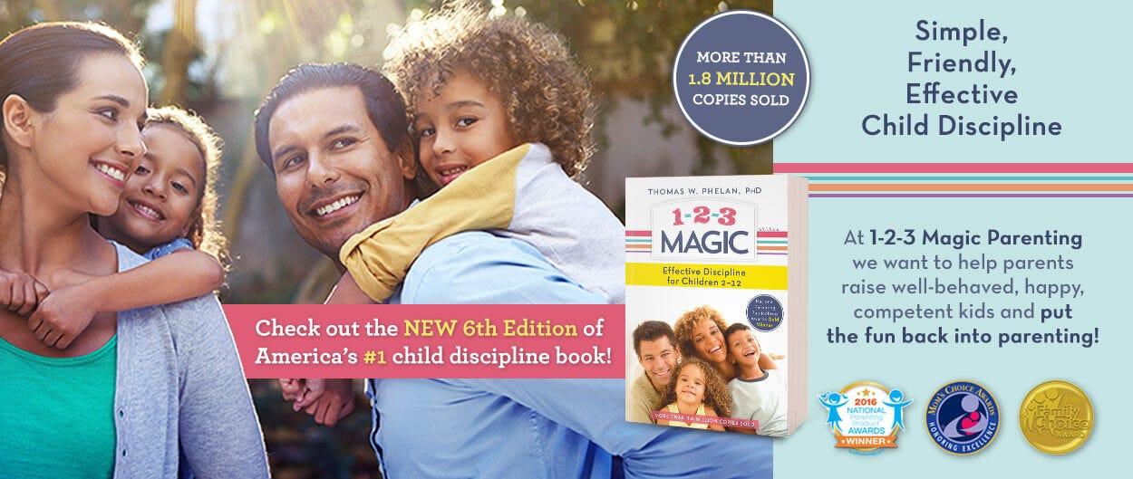 1-2-3 Magic: Simple, Friendly, Effective Child Discipline